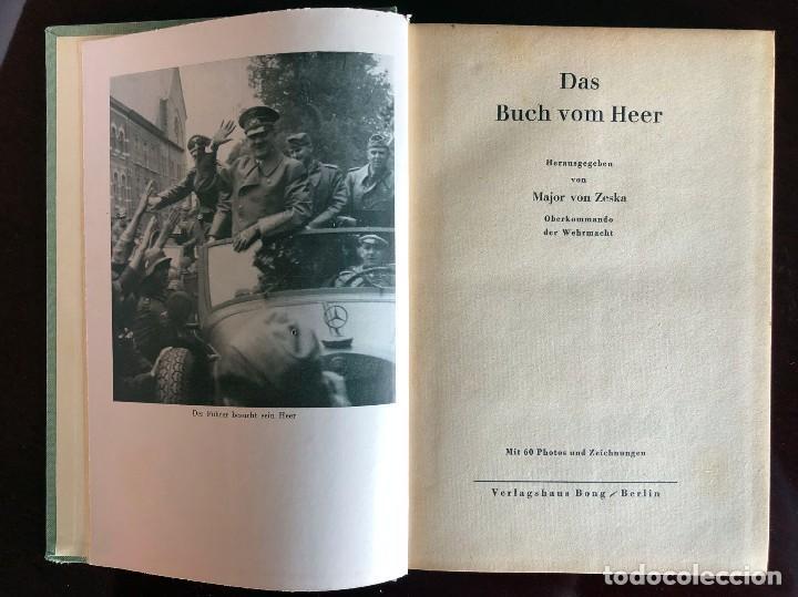 Militaria: Libro. Das Buch vom Heer. Berlín 1940. Zeska. II Guerra Mundial. III Reich. Wehrmacht. Alemania - Foto 10 - 135321626