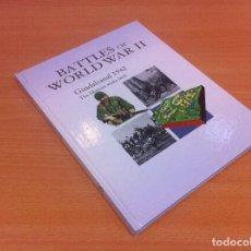 Militaria: LIBRO TAPA DURA EN INGLÉS: BATTLES OF WORLD WAR II - GUADALCANAL 1942. OSPREY, 2010. Lote 135329490