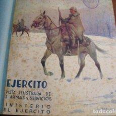 Militaria: 1943 REVISTA EJERCITO TOMO 1 REVISTAS DE ENERO A JUNIO. Lote 135896970