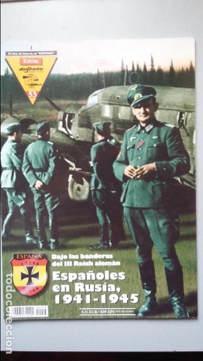 ESPAÑOLES EN RUSIA. EXTRA DEFENSA (Militar - Libros y Literatura Militar)