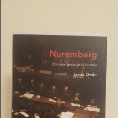 Militaria: NUREMBERG - EL MAYOR JUICIO DE LA HISTORIA. Lote 136672562