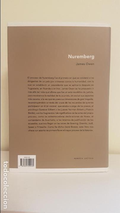 Militaria: NUREMBERG - El mayor juicio de la historia - Foto 2 - 136672562