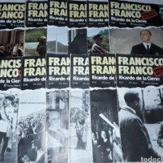 Militaria: FASCÍCULOS BIOGRAFÍA HISTÓRICA FRANCO. Lote 136758453