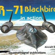 Militaria: SR-71 BLACKBIRD IN ACTION . SQUADRON/SIGNAL. Lote 136803446