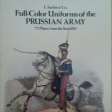 Militaria: UNIFORMS OF PRUSSIAN ARMY.. Lote 137190214
