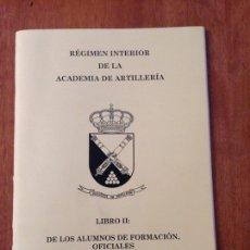Militaria: LIBROII: DE LOS ALUMNOS DE FORMACIÓN DE OFICIALES. Lote 137456466