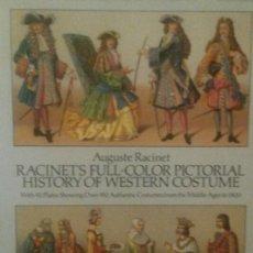 Militaria: RACINET. HISTORY OF WESTERN COSTUME.. Lote 137475070