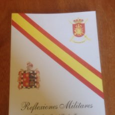 Militaria: REFLEXIONES MILITARES. Lote 137549080