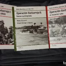 Militaria: OPERACION BARBARROJA. OSPREY SEGUNDA GUERRA MUNDIAL. Lote 138163734