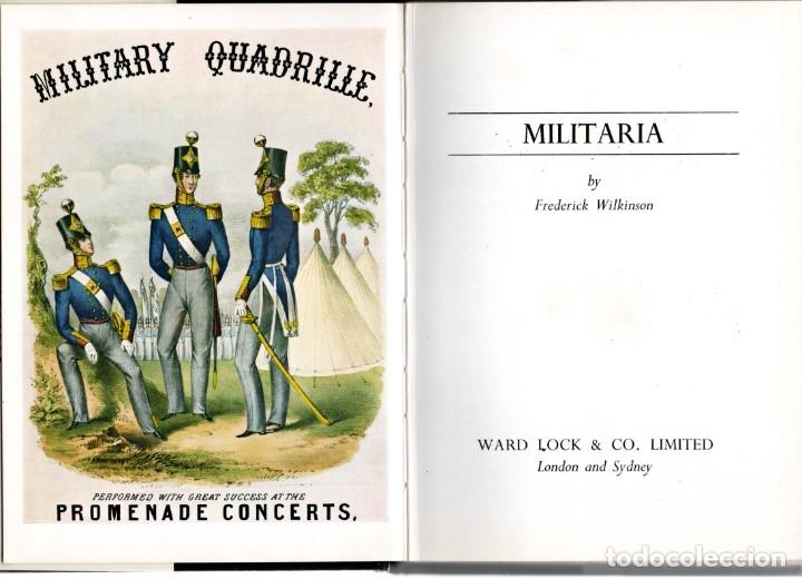 Militaria: LIBRO MILITARIA,EN INGLES,AÑO 1969,UNIFORMES,MEDALLAS,CASCOS,GORRAS,ESPADAS,SOLDADOS DE PLOMO,SABLES - Foto 3 - 138602786