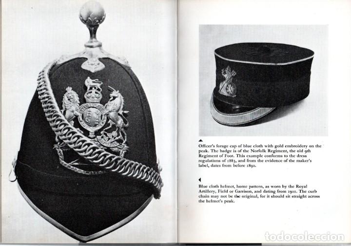 Militaria: LIBRO MILITARIA,EN INGLES,AÑO 1969,UNIFORMES,MEDALLAS,CASCOS,GORRAS,ESPADAS,SOLDADOS DE PLOMO,SABLES - Foto 4 - 138602786