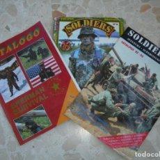 Militaria: LOTE TRES CATÁLOGOS MILITARIA. Lote 138675974