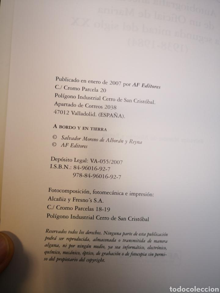 Militaria: A bordo y en tierra, Salvador Moreno de Alboran y Reyna -Autobiografía anecdotaria OFICIAL DE MARINA - Foto 4 - 138749548