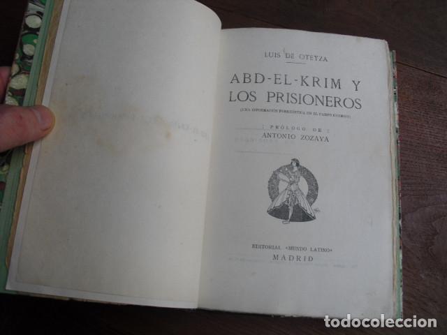 Militaria: ABD-EL-KRIM Y LOS PRISIONEROS LUIS DE OTEYZA - Foto 4 - 139054502