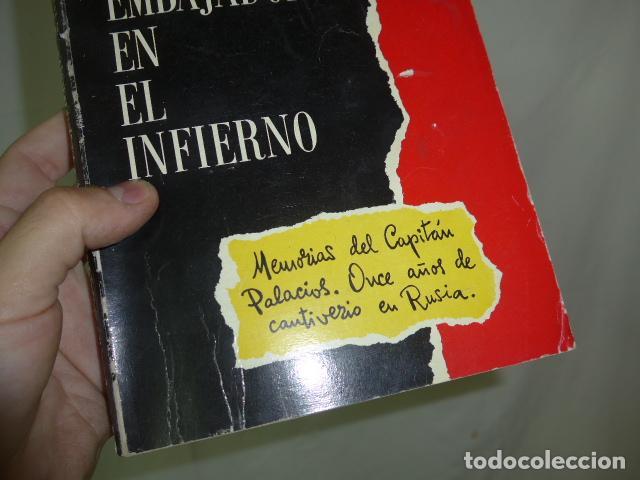 Militaria: Antiguo libro embajador en el infieno, division azul. Original. - Foto 2 - 139120002