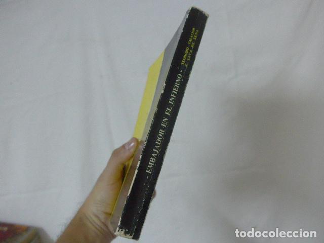 Militaria: Antiguo libro embajador en el infieno, division azul. Original. - Foto 4 - 139120002