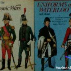 Militaria: LOTE 2 LIBROS EDITORIAL BLANDFORD.. Lote 139220638