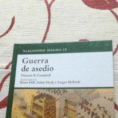 Militaria: OSPREY - GUERRA DE ASEDIO. Lote 139473262