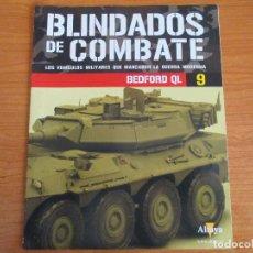 Militaria: ALTAYA: COLECCION BLINDADOS DE COMBATE: FASCICULO Nº 9 - BEDFORD QL. Lote 139686090