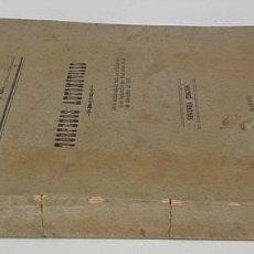 Militaria: TORPEDOS AUTOMÓVILES. VV. AA. IMP. MINISTERIO DE MARINA. MADRID. 1910.. Lote 140111522