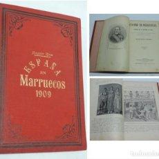 Militaria: ESPAÑA EN MARRUECOS, CRÓNICA DE LA CAMPAÑA DE 1909, POR AUGUSTO RIERA. PUBLICADO EN BARCELONA, POR L. Lote 140357402