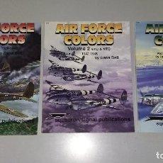 Militaria: AIR FORCE COLORS: SQUADRON SIGNAL. Lote 140890774