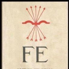 Militaria: B1493 - FE. DOCTRINA DEL ESTADO NACIONALSINDICALISTA. FALANGE. JONS. 1937.. Lote 141148682