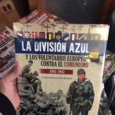 Militaria: LA DIVISIÓN AZUL Y LOS VOLUNTARIOS EUROPEOS CONTRA EL COMUNISMO. Lote 185724567