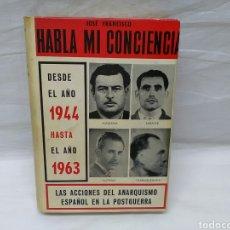 Militaria: HABLA MI CONCIENCIA DESDE EL AÑO 1944. Lote 141460674