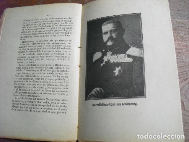Militaria: 1916 LOS COLABORADORES DEL KAISER LUIS DE CASTRO - Foto 2 - 141761594