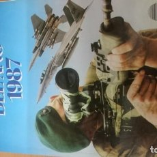 Militaria: LIBRO MILITAR AÑO 1987. Lote 141775570