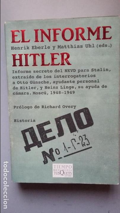 EL INFORME HITLER (Militar - Libros y Literatura Militar)