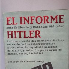 Militaria: EL INFORME HITLER. Lote 141792354