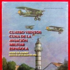 Militaria: CUATRO VIENTOS CUNA DE LA AVIACIÓN MILITAR ESPAÑOLA. NUEVO .EN BLISTER PRECINTADO SIN ABRIR.. Lote 142041570