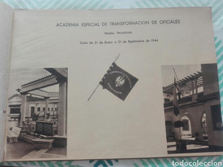 Militaria: libro academia especial de transformación de oficiales 1ª promocion año 1944 - Foto 2 - 142153392