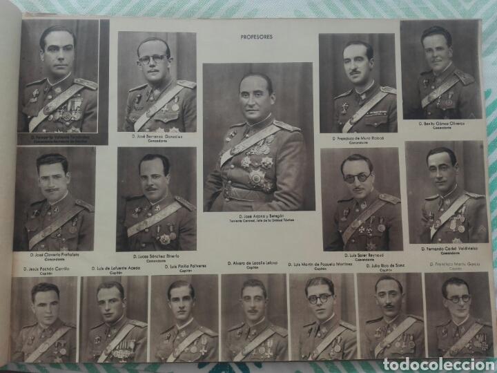 Militaria: libro academia especial de transformación de oficiales 1ª promocion año 1944 - Foto 6 - 142153392