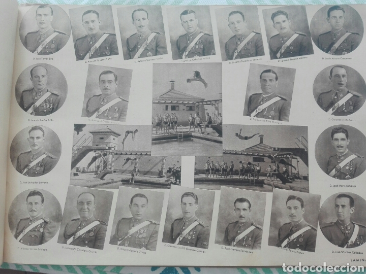 Militaria: libro academia especial de transformación de oficiales 1ª promocion año 1944 - Foto 17 - 142153392