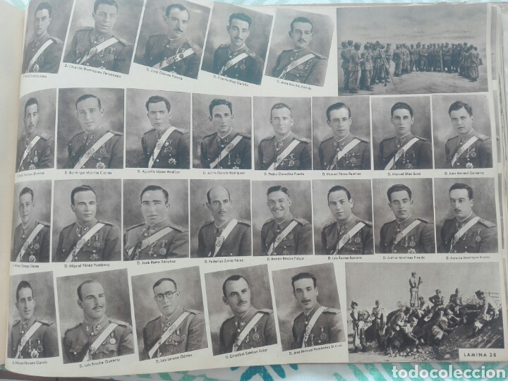 Militaria: libro academia especial de transformación de oficiales 1ª promocion año 1944 - Foto 29 - 142153392