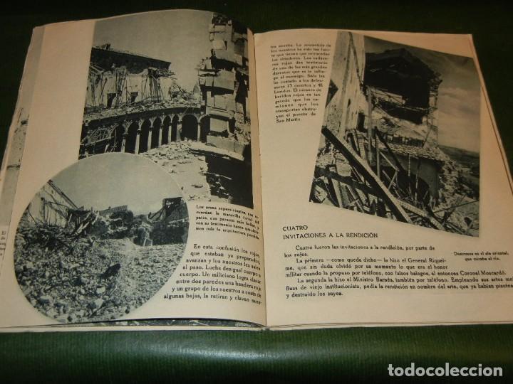 Militaria: EL ALCAZAR ( DE TOLEDO), EDITORIAL NACIONAL, 1939 - GUERRA CIVIL ESPAÑOLA - Foto 2 - 142395982