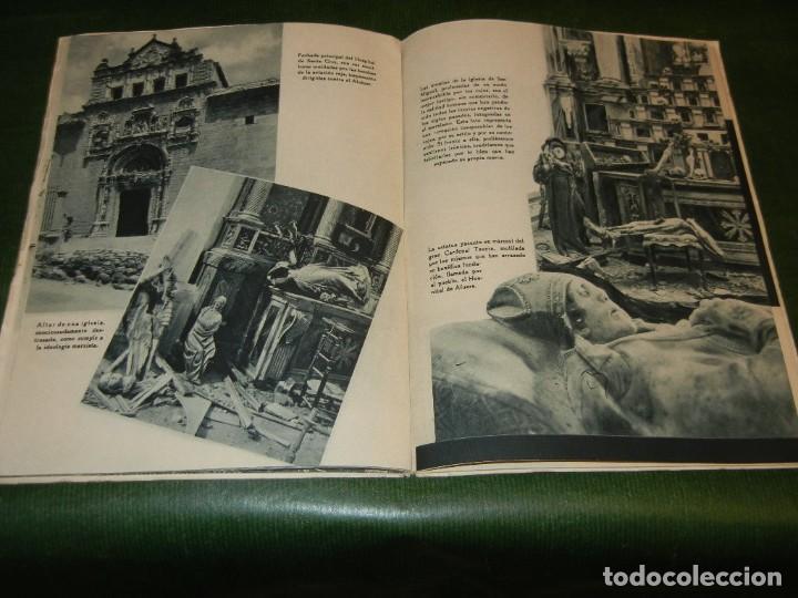 Militaria: EL ALCAZAR ( DE TOLEDO), EDITORIAL NACIONAL, 1939 - GUERRA CIVIL ESPAÑOLA - Foto 3 - 142395982