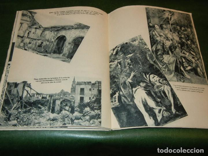 Militaria: EL ALCAZAR ( DE TOLEDO), EDITORIAL NACIONAL, 1939 - GUERRA CIVIL ESPAÑOLA - Foto 4 - 142395982