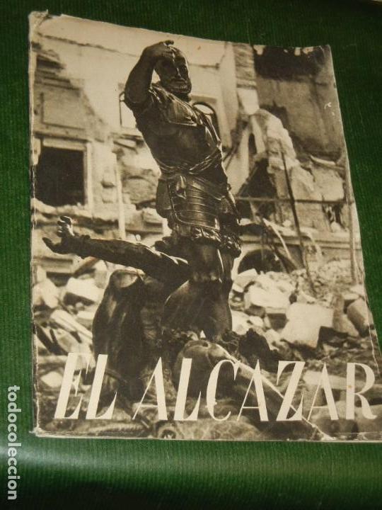EL ALCAZAR ( DE TOLEDO), EDITORIAL NACIONAL, 1939 - GUERRA CIVIL ESPAÑOLA (Militar - Libros y Literatura Militar)