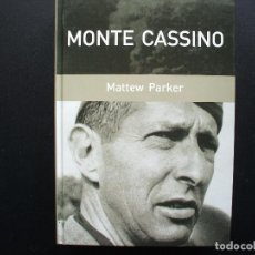 Militaria: MONTE CASSINO. MATTEW PARKER. II GUERRA MUNDIAL. Lote 142503478