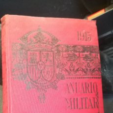 Militaria: ANUARIO MILITAR DE ESPAÑA DE 1915. Lote 142664457