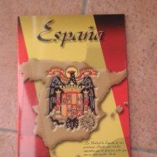Militaria: ESPAÑA UNIDAD INDIVISIBLE. TRIPTICO 25 X 16. Lote 142731902
