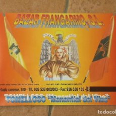 Militaria: CATALOGO BAZAR FRANGARMO S.L.. Lote 142736622