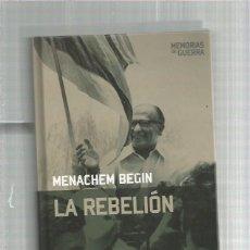 Militaria: REBELION BEGIN. Lote 142956242