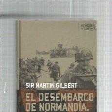 Militaria: DESEMBARCO NORMANDIA EL DIA D. Lote 142957282
