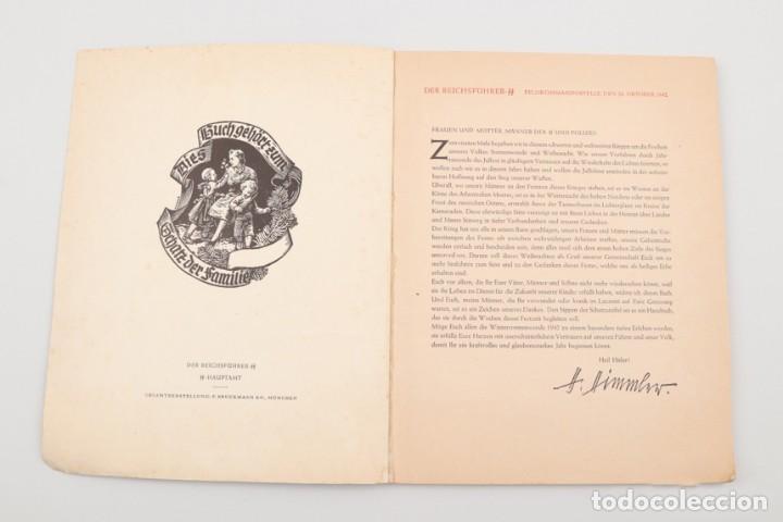 Militaria: Libro Weihnachts Liederbich 1942, Tercer Reich, Hitler, Nazi, NSDAP, SS Navidad - Foto 6 - 142971254