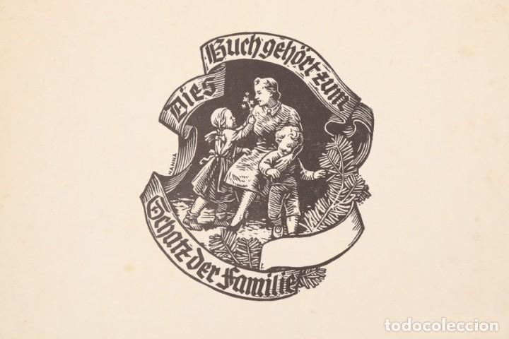 Militaria: Libro Weihnachts Liederbich 1942, Tercer Reich, Hitler, Nazi, NSDAP, SS Navidad - Foto 7 - 142971254